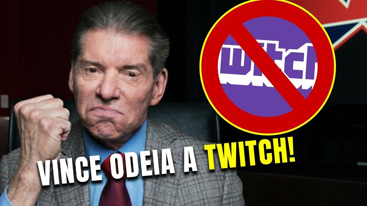 Lutadores da WWE não podem ter Twitch