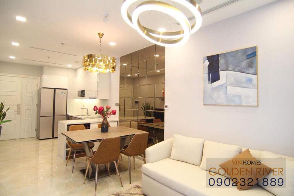 Vinhome Ba Son cho thuê căn hộ 51m2 nội thất cực đẹp - hình 4