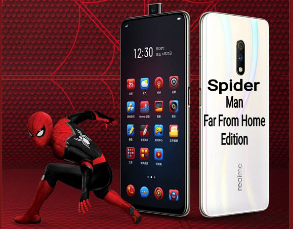 Realme X Spider-man Far From Home Edition
