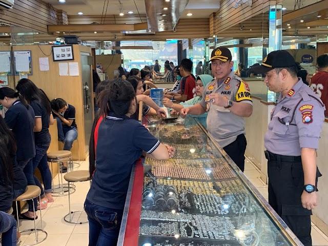 Kapolresta Tangerang Imbau Pemilik Toko Mas Pasang Tralis Besi