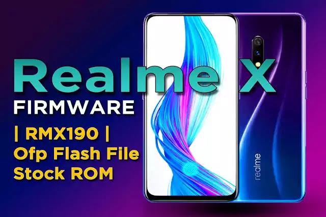 Realme X Firmware | RMX190