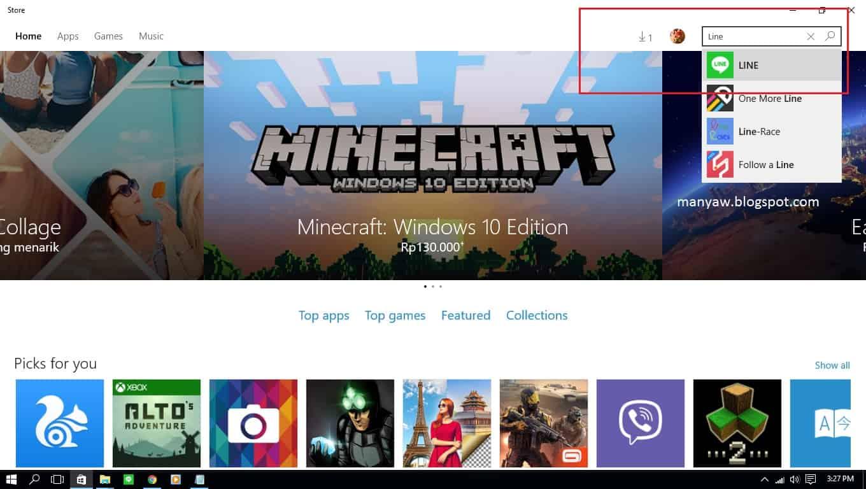 Cara Daftar dan Instal LINE di Windows 10 - Manyaw Blog
