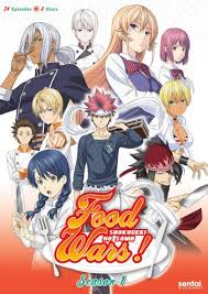 Tahun 2015 juga menjadi debut anime Shokugeki no Souma