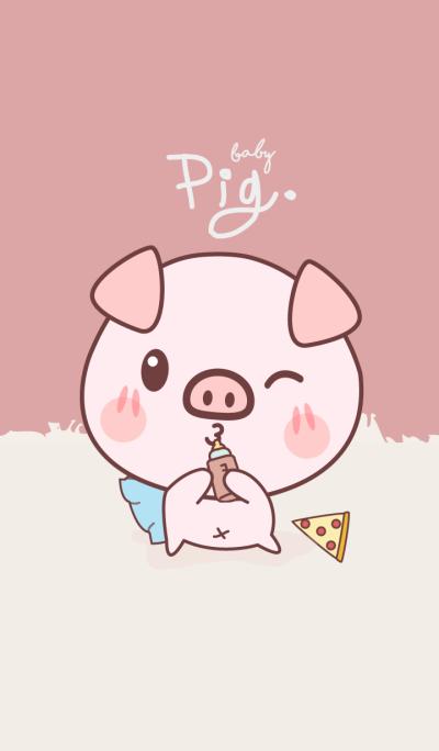 Pig Haru Ko (Brown&Pink ver.)