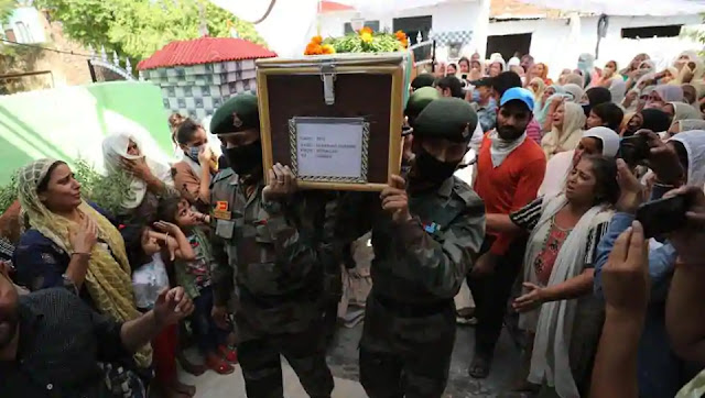 indian soldier cremation