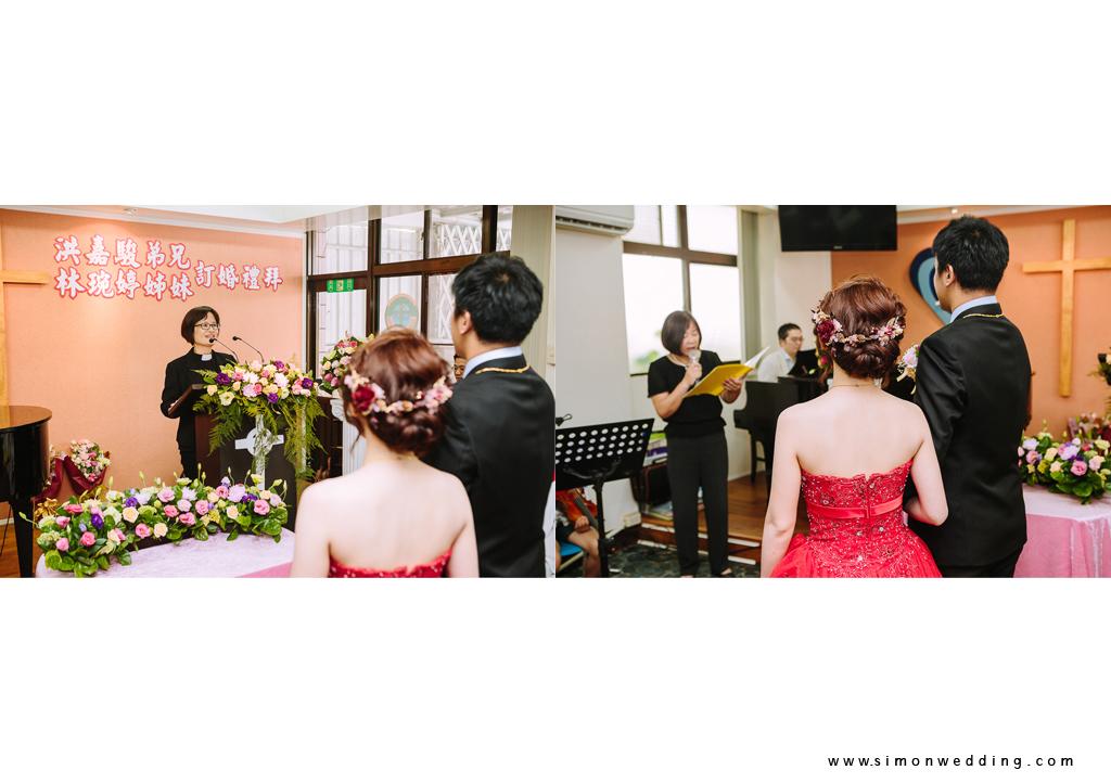 教會婚禮 穿著