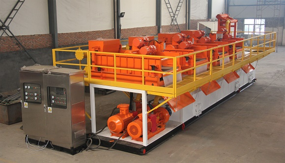 Multistage Automatic Solids Control System for The River Channel Dredging