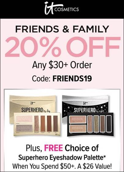 Discounts and sales at Itcosmetics by barbies beauty bits