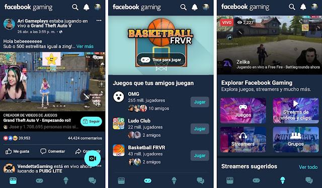Facebook Gaming ya se encuentra en Android