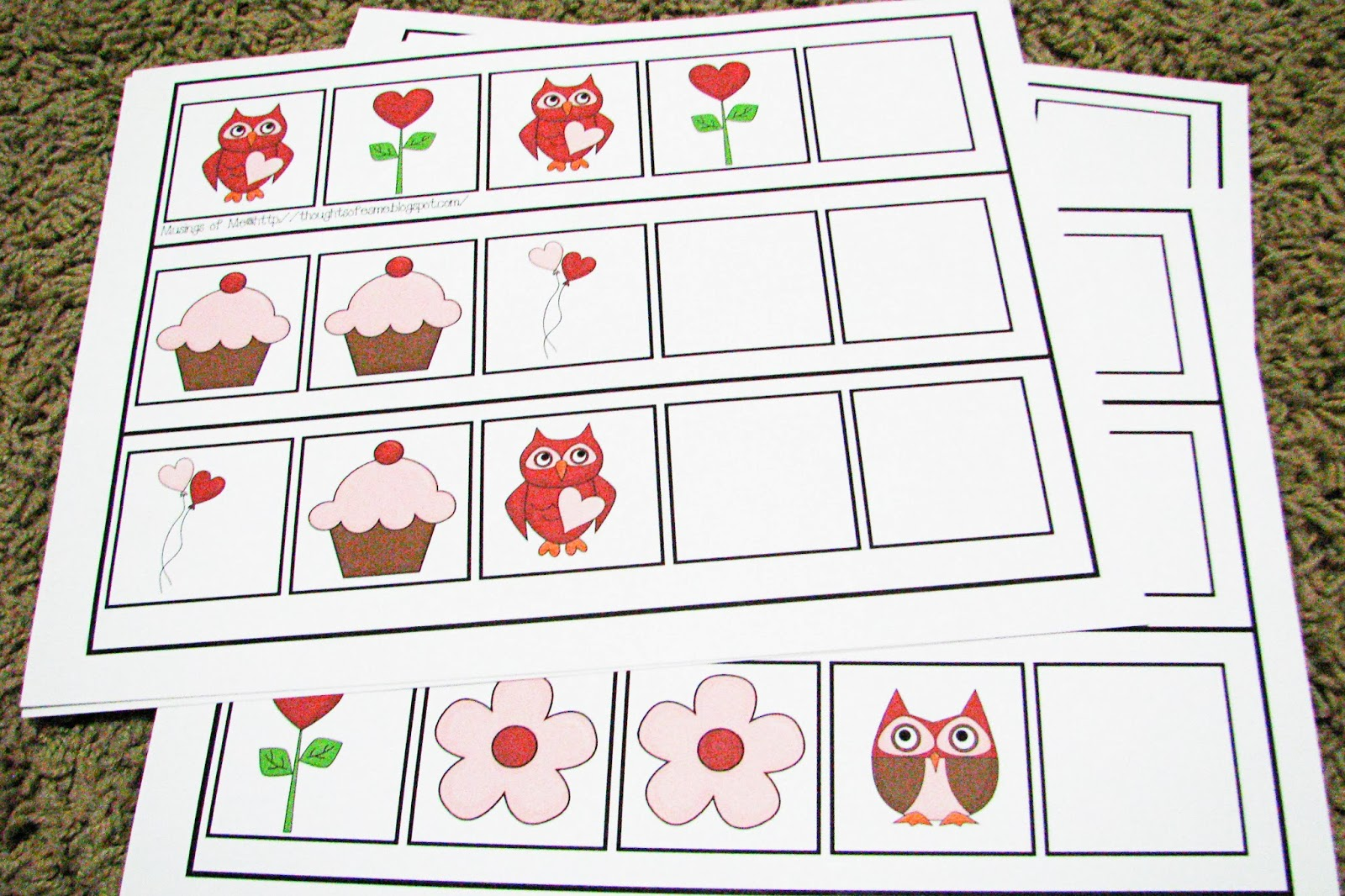 Mommy S Little Helper Letter V Valentine S Day Preschool Theme