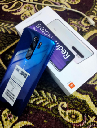 Redmi Note 8 Pro (Halo White, 6GB RAM, 128GB Storage with Helio G90T Processor)