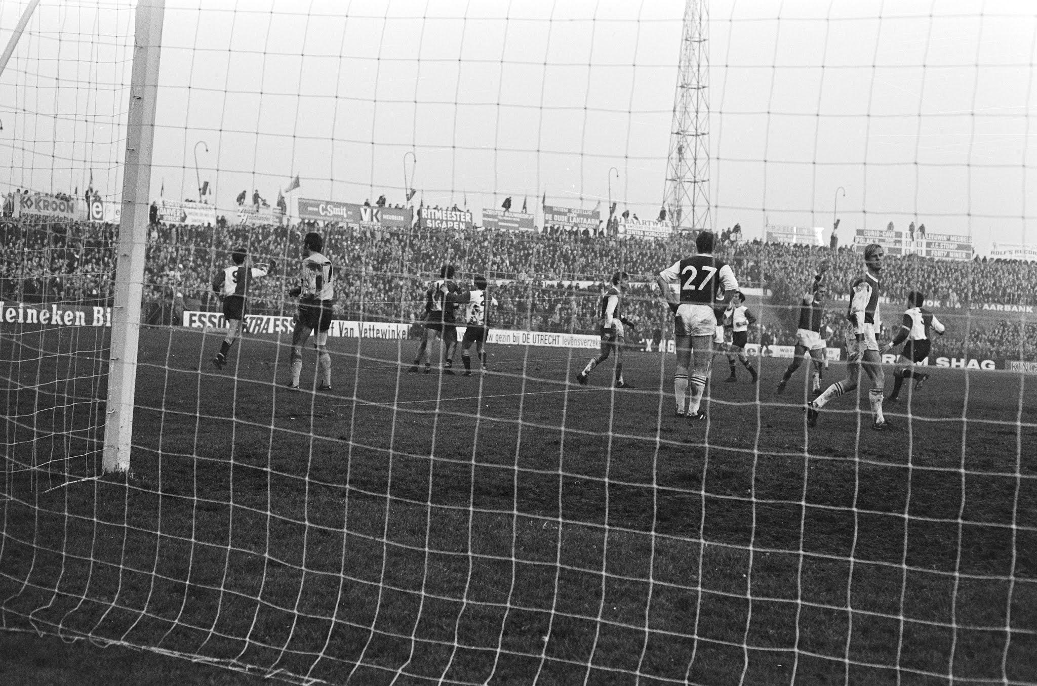 Feyenoord viert winnende goal
