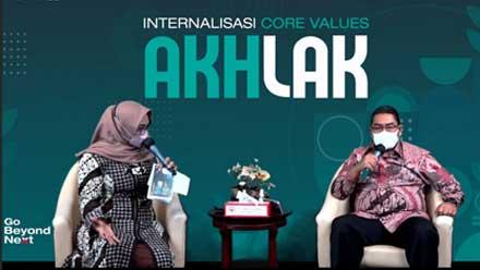 Internalisasi Core Values AKHLAK
