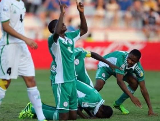 nigeria vs iran score