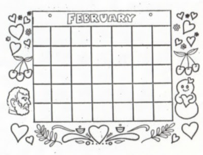 Freebie January and February Pages
