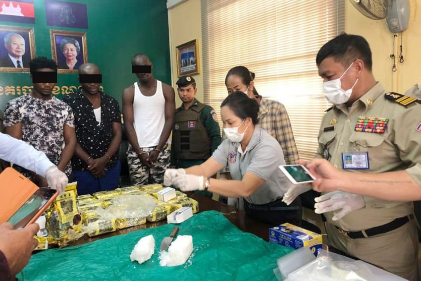 3 Nigerians Detained With More Than 20 Kg Of Illicit Drugs In Cambodia