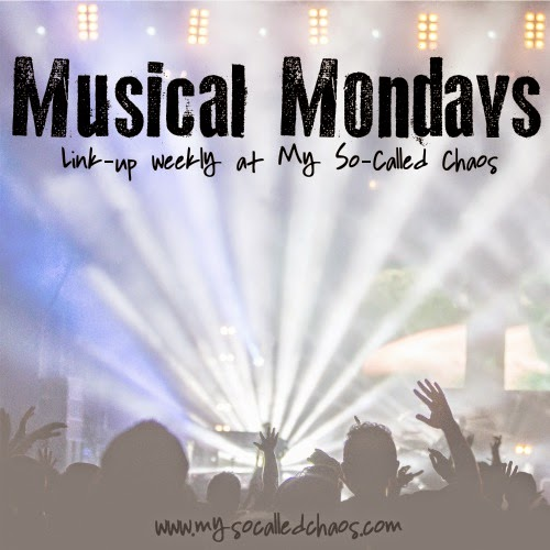 Musical Mondays at My So-Called Chaos></a></center>  </center> <center style=