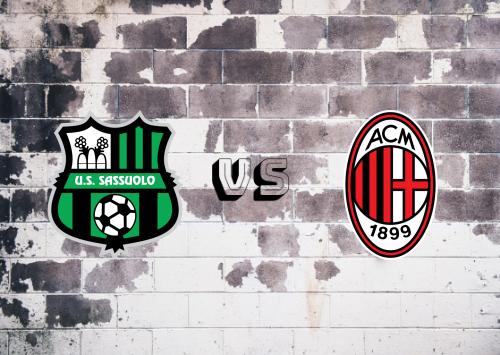 Sassuolo vs Milan  Resumen y Partido Completo