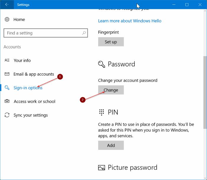 Mere Nyaho Cara Panduan Singkat Menghapus Password User Account di Windows 10