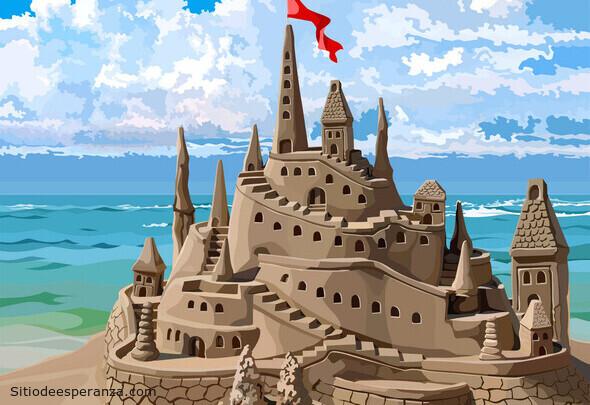 Reflexión: El castillo de arena
