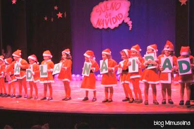 mimuselina blog ilusión niños navidad función colegio villancicos