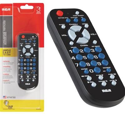 RCA RCR503BZ universal remote