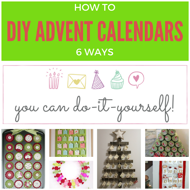 6 Amazing DIY Advent Calendars