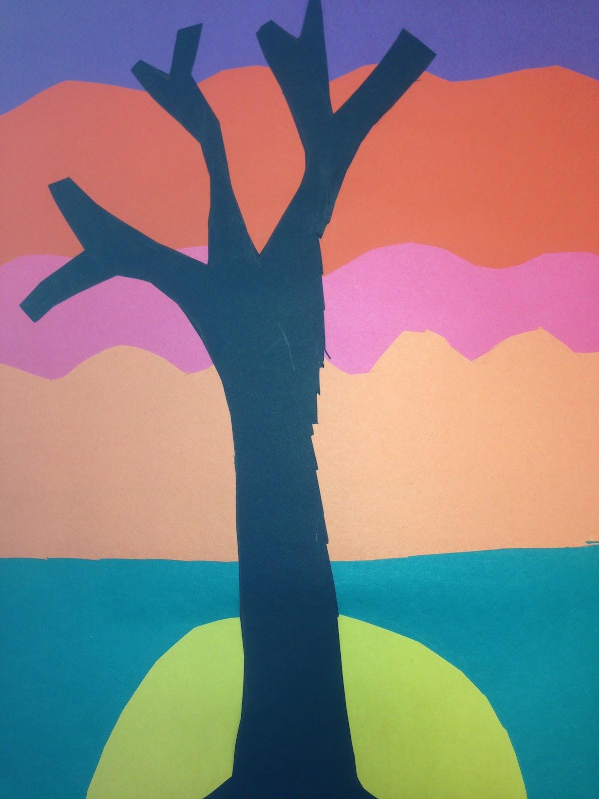 K12 The Art Gallery Twilight LandscapesLayered Paper