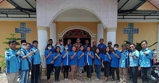 GAMKI Bersama BKPRMI Kecamatan Badiri Gotong-Royong Bersihkan Masjid dan Gereja.