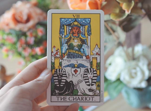 Significado da Carta 7 - O Carro no Tarot do amor, dinheiro, trabalho, saúde obstáculo, conselho e invertida