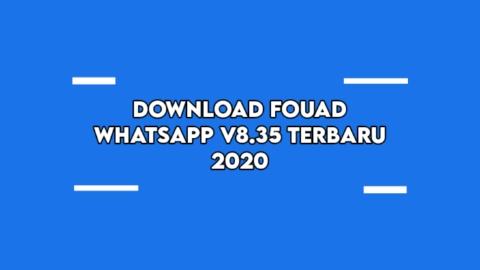 Fouad WhatsApp Mod V8.35 Anti Banned