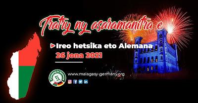 26 juin 2021, fête nationale de Madagascar
