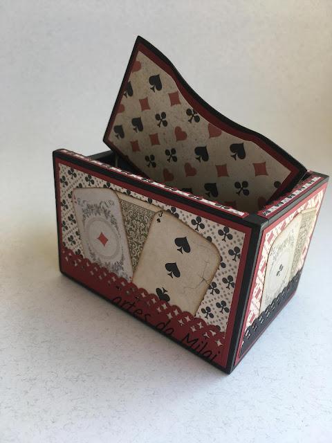 Cx para cartas de jogo