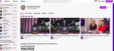 "Twitch suspends Donald Trump's account to avoid ""more violence"""