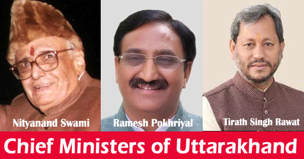 List of Chief Ministers of Uttarakhand 2000 to 2021