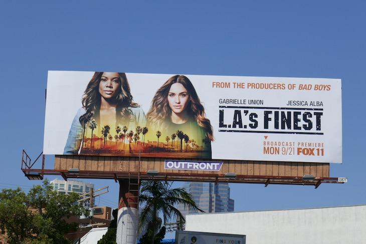 LAs Finest season 1 billboard