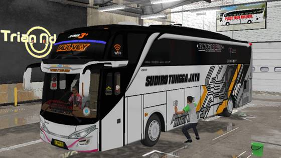Livery Bussid STJ Mulvey SHD Original