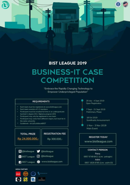 Business-IT Case Competition di ITB