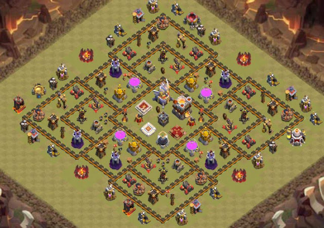 Base Town Hall 11 Clash of Clans War