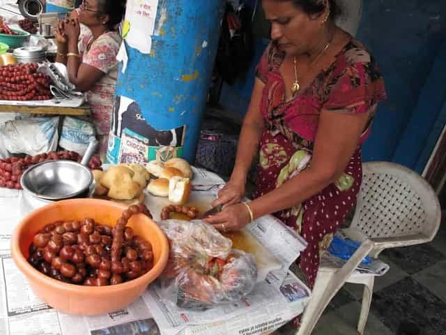 street food in Goa