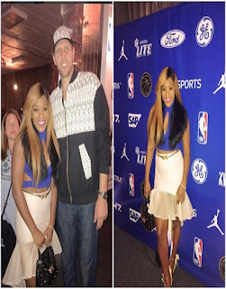 Singer Emma Nyra  represents female artistes in Africa and Diaspora at NBA Africa game