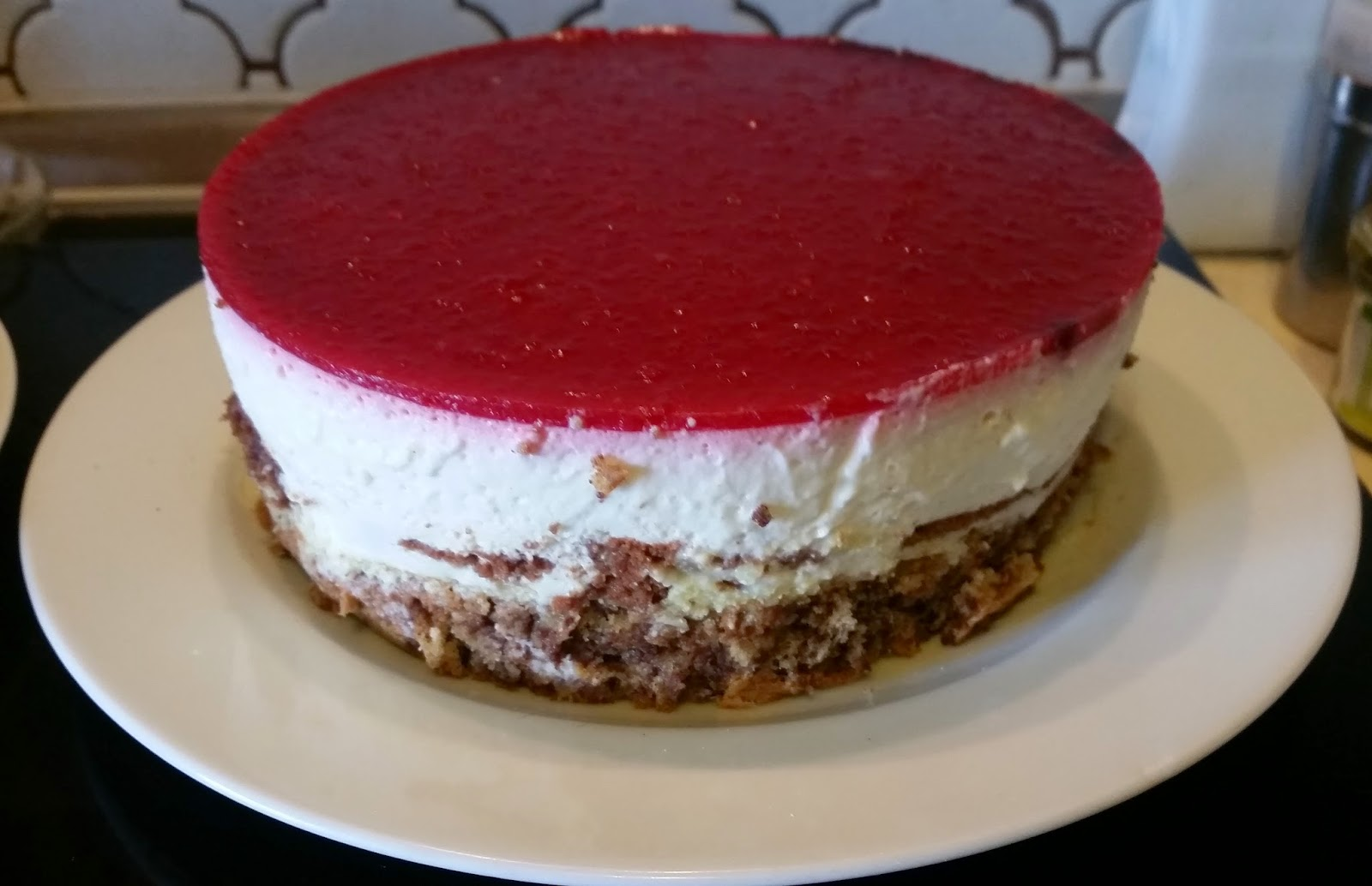 Sandy S Kitchendreams Himbeer Joghurt Torte