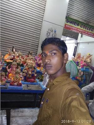 selfie le le ganpati