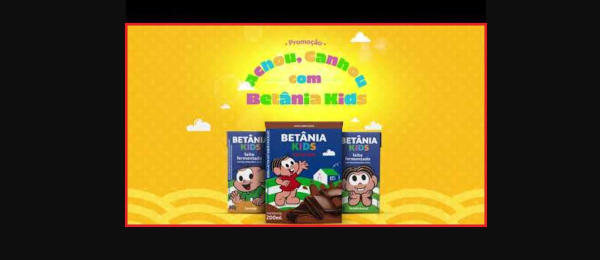Promoção Betânia Kids 2021 Achou Ganhou