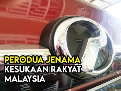 Perodua Jenama Kegemaran Malaysia