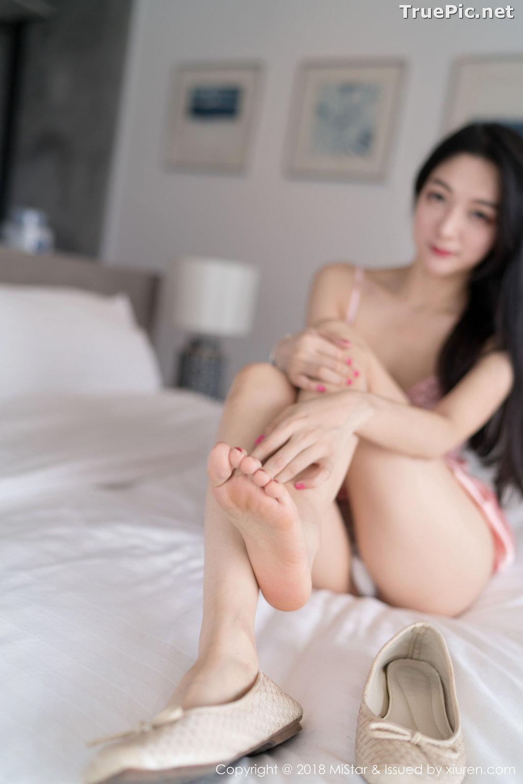 Image MiStar Vol.238 - Chinese Model - Xiao Reba (Angela小热巴) - Sleep Dress and Monokini - TruePic.net - Picture-13