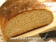 Kváskový chlieb so syrom - recept