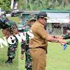 Bupati Bone, Pimpin Upacara Pembukaan TMMD Ke-104 TA 2019 di Wilayah Kodim 1407/Bone
