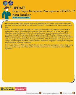 Press Release COVID-19 Tarakan 7 Mei 2020 - Tarakan Info