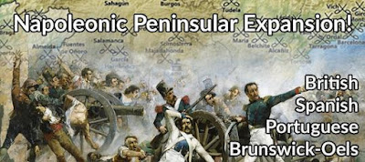 Peninsular Napoleonics Not-Kickstarter from Pendraken Miniatures